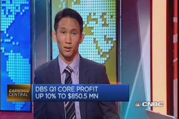 DBS Q1 net profits hits record S$1.27 billion
