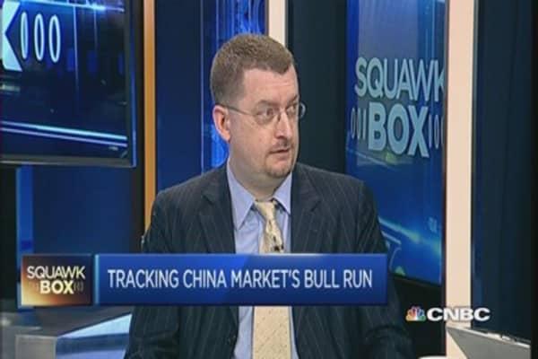 What's behind China's stellar market rally