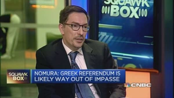 There's a 'united front' against Greece: Economist