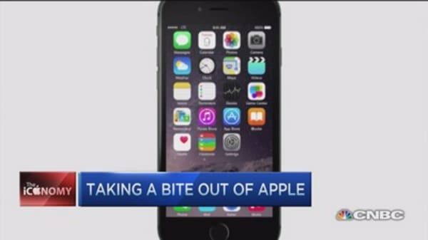 Apple earnings all about iPhone