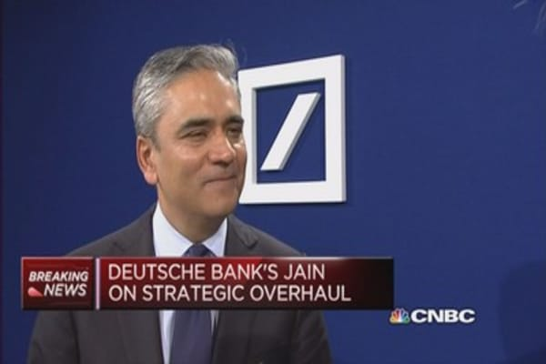 Overhaul plans can't be judged by market reaction: Detusche Bank Co-CEO