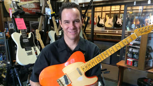 Mike Craig of Gelb Music in California