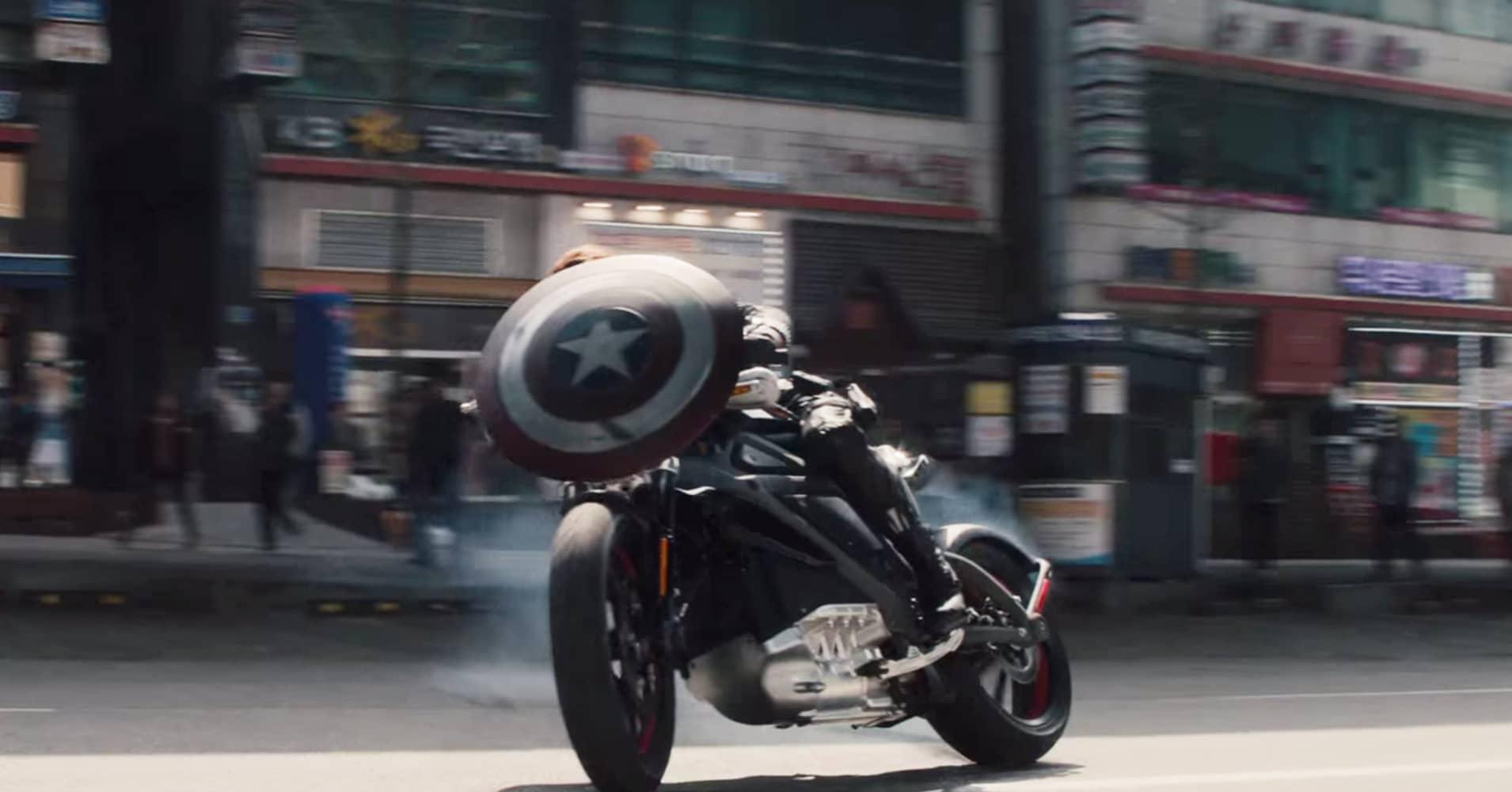 Harley Davidson Movie: Harley Chief Loves ScarJo's 'Avengers' Electric Bike