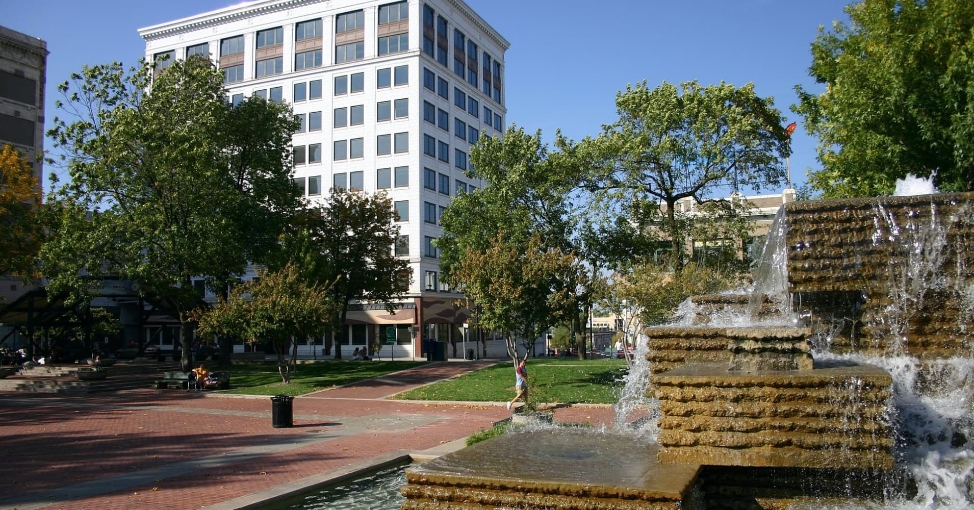Park Central Square in Downtown Springfield