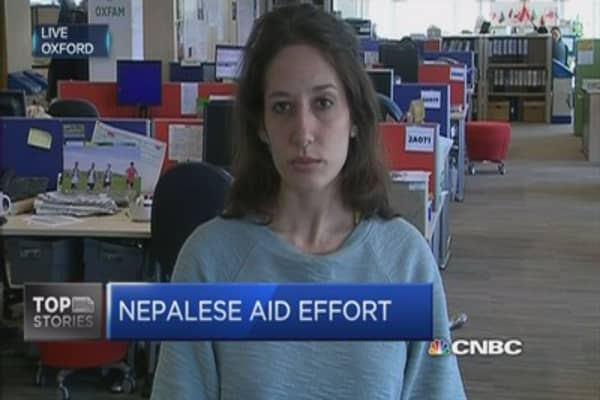 UK has donated £500,000 to Nepal cause: Oxfam