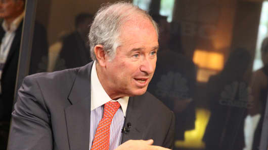 Steve Schwarzman, Blackstone's chairman and CEO.