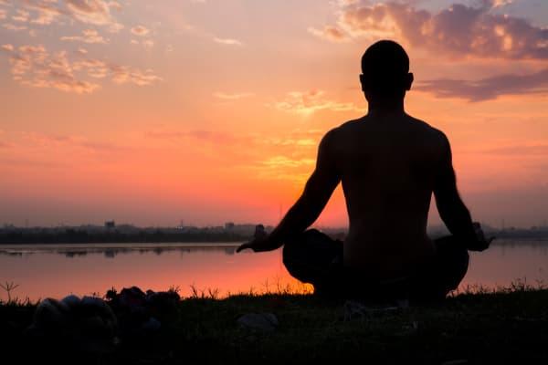Yoga meditation guru
