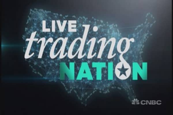 Trading Nation: Todd Gordon trades Apple live!