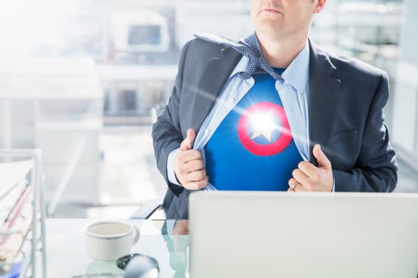 Office super hero