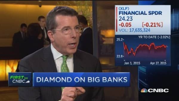 Financial services rooting for higher rates: Diamond