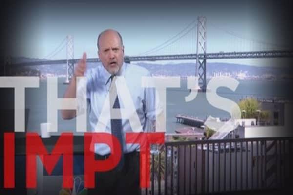 Here's What Cramer Thinks Of Apple's Earnings