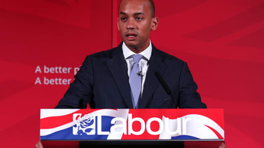 Chuka Umunna, Shadow Business Secretary