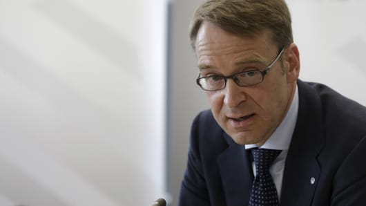 German Bundesbank President Jens Weidmann.