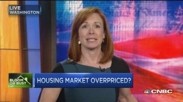 Heady home prices