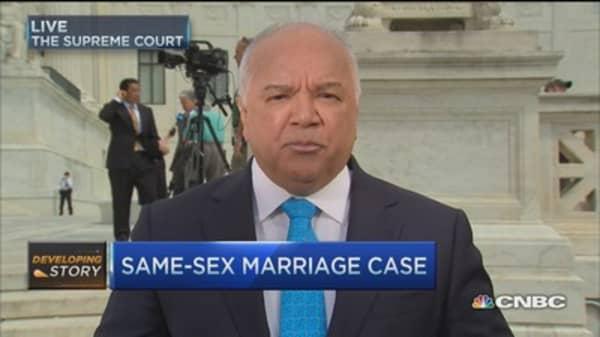 Same-sex marriage case