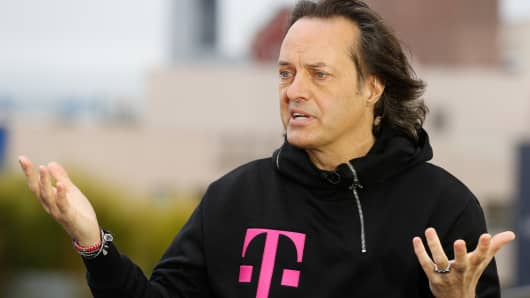 John Legere, president and CEO of T-Mobile.