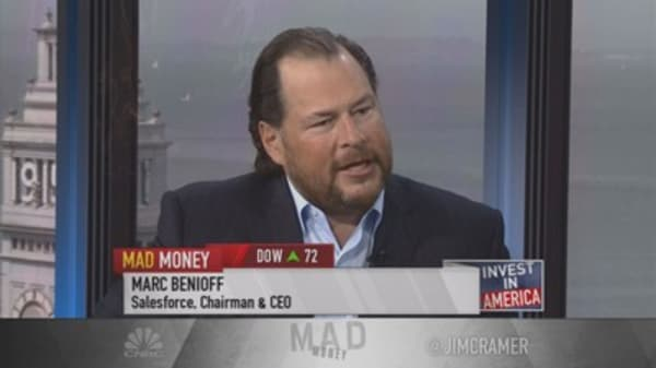 Salesforce.com CEO: Focused on stakeholders