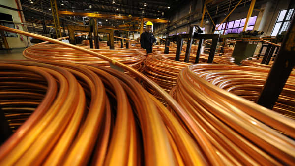 Copper production in Johor, Malaysia