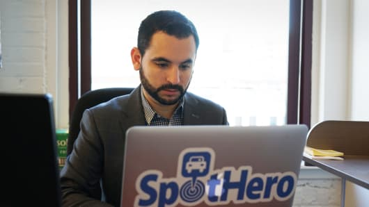Mark Lawrence of SpotHero