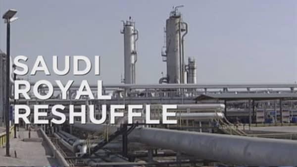 Saudi Arabia's royal reshuffle causes oil market tension