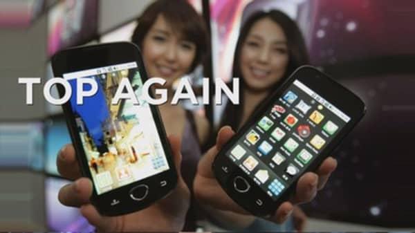 Samsung tops US smartphone market