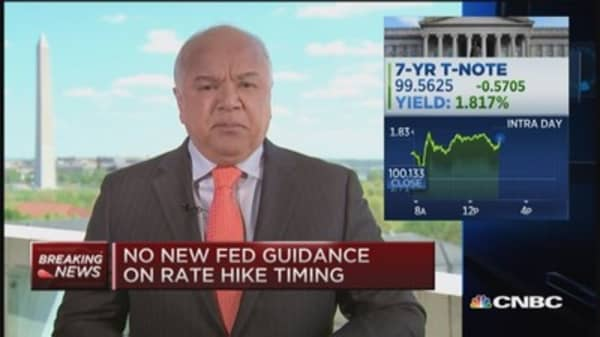Fed confident inflation will move back to 2% objective
