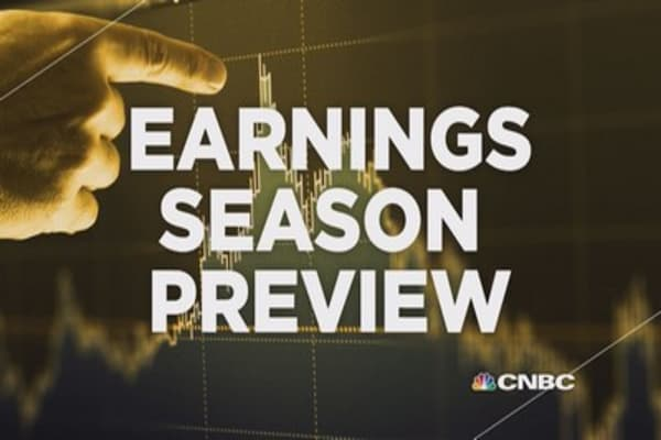 Earnings season preview