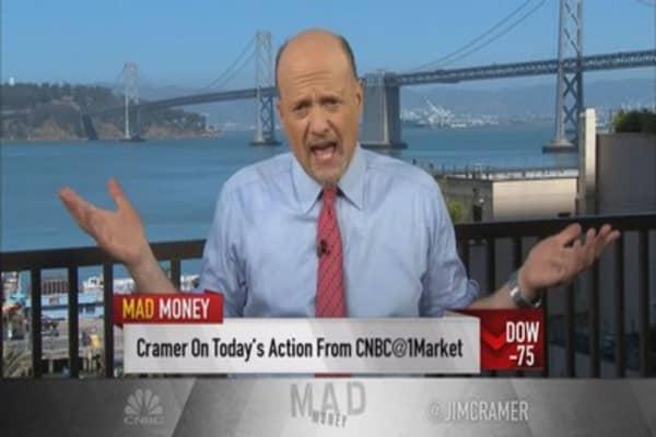 Cramer: The market's battlefield