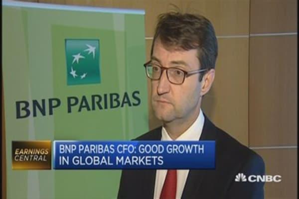 Costs growing slower than revenues: BNP Paribas CFO