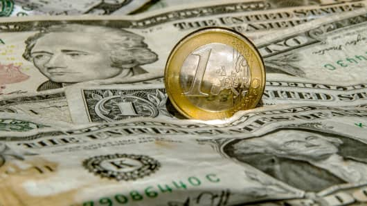 Euro In Trend Change As Dollar Gets Thumped On Us Political Risk Lowered Fed Expectations