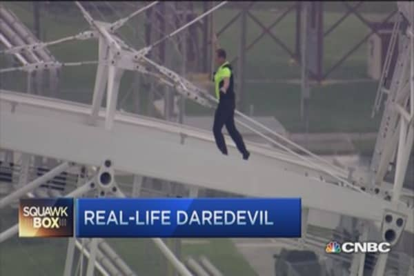 Nik Wallenda's high wire thrills 'in his blood'