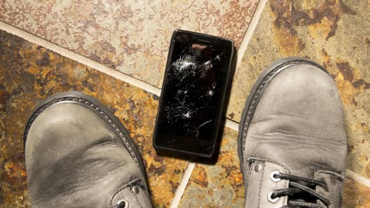 How high can you drop your smartphone?