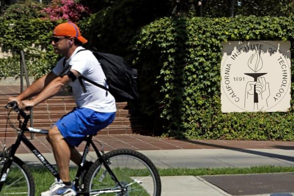 California Institute of Technology campus in Pasadena, California.