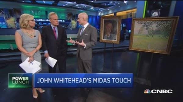 John Whitehead's art collection