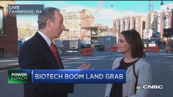 Biotech boom land grab