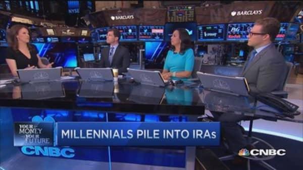 Millennials pile into IRAs