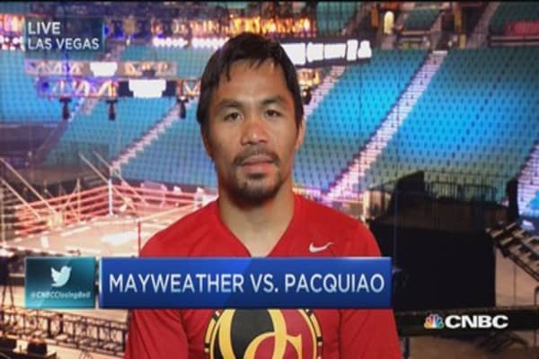 Manny Pacquiao: Mayweather fight for the fans