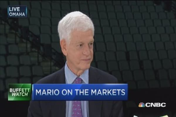 Berkshire's 'pause that refreshes': Mario Gabelli