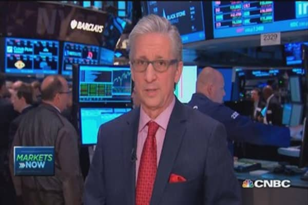 Pisani's market open: Sell in May? Not today