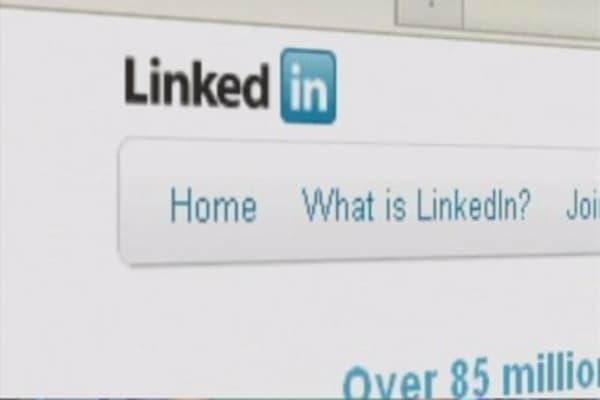 Social media stocks tumble
