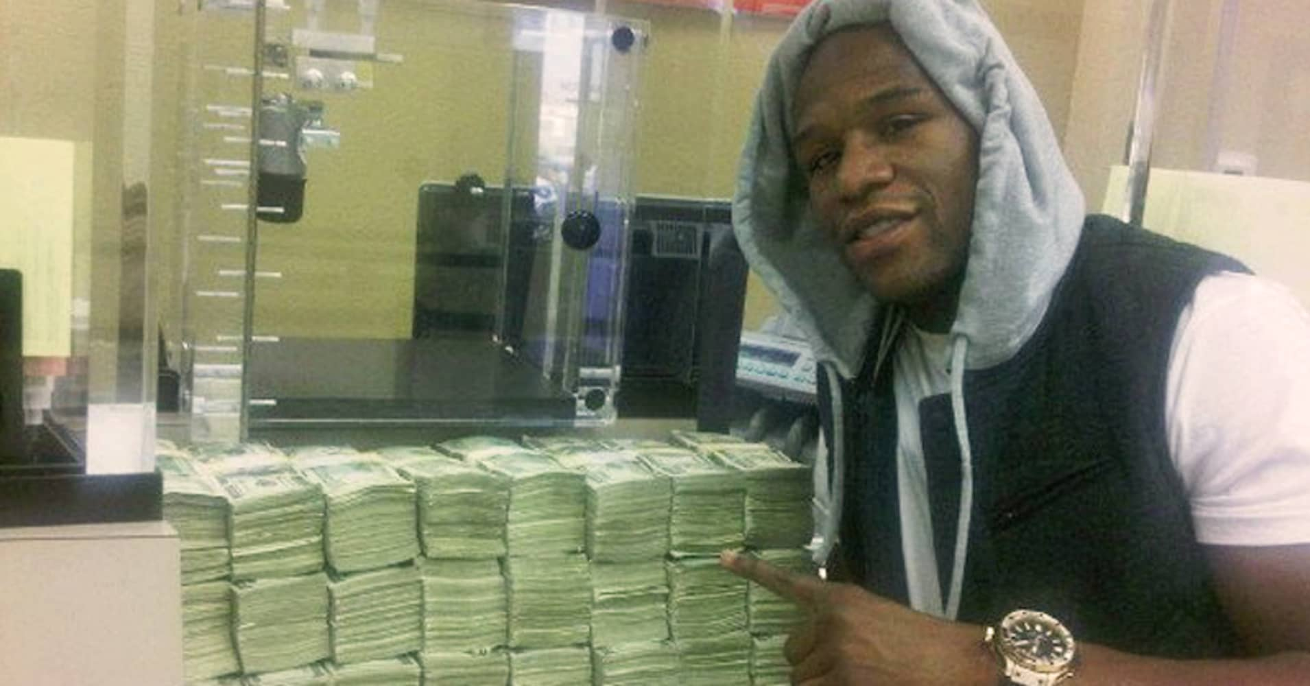 Image result for Business man floyd mayweather money