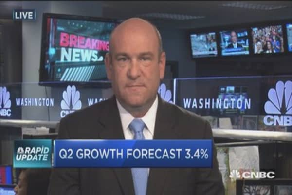 Weakening Q2 GDP forecasts
