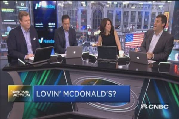 Start lovin' McDonald's?