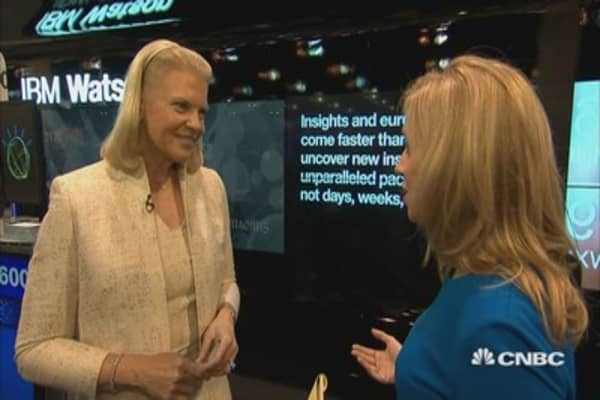 Rometty on Watson: He never stops learning