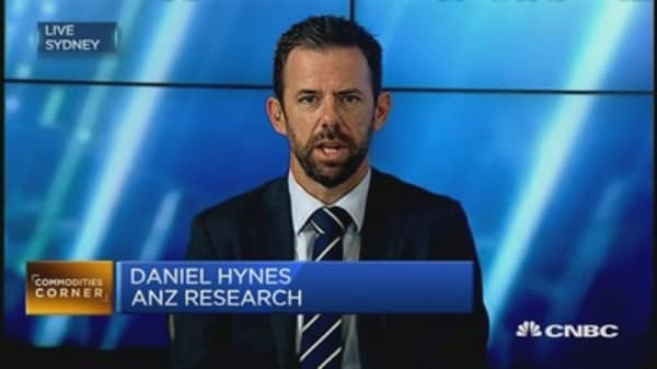 Commodities are entering a 'sweet spot': ANZ