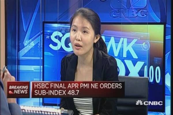 Weak China April PMI not a surprise: HSBC