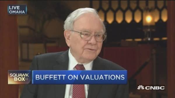 Bonds are very overvalued: Buffett