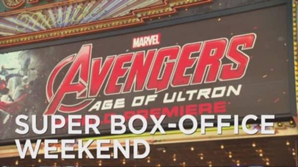 'Avengers' tops box office