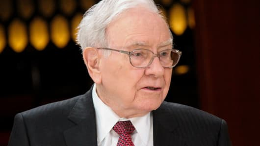 Warren Buffett, chairman of Berkshire Hathaway Inc.