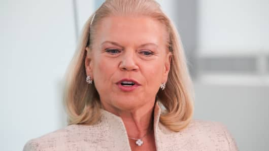 Ginni Rometty, CEO of IBM